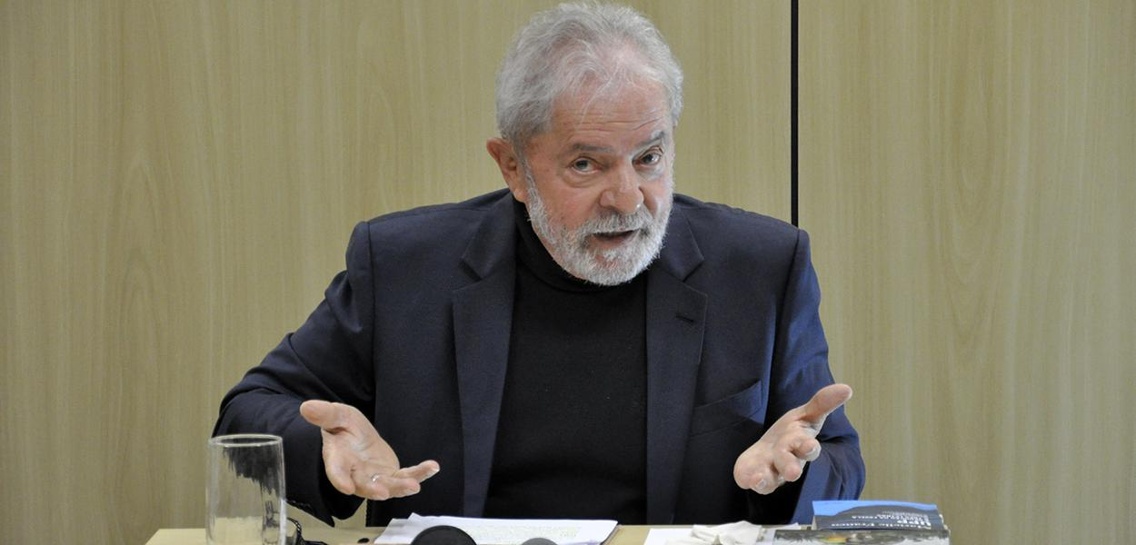 Entrevista do ex-presidente Lula concedida a TV 247.