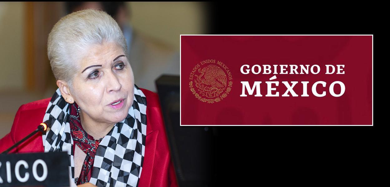 Embaixadora do México Luz Elena Baños Rivas