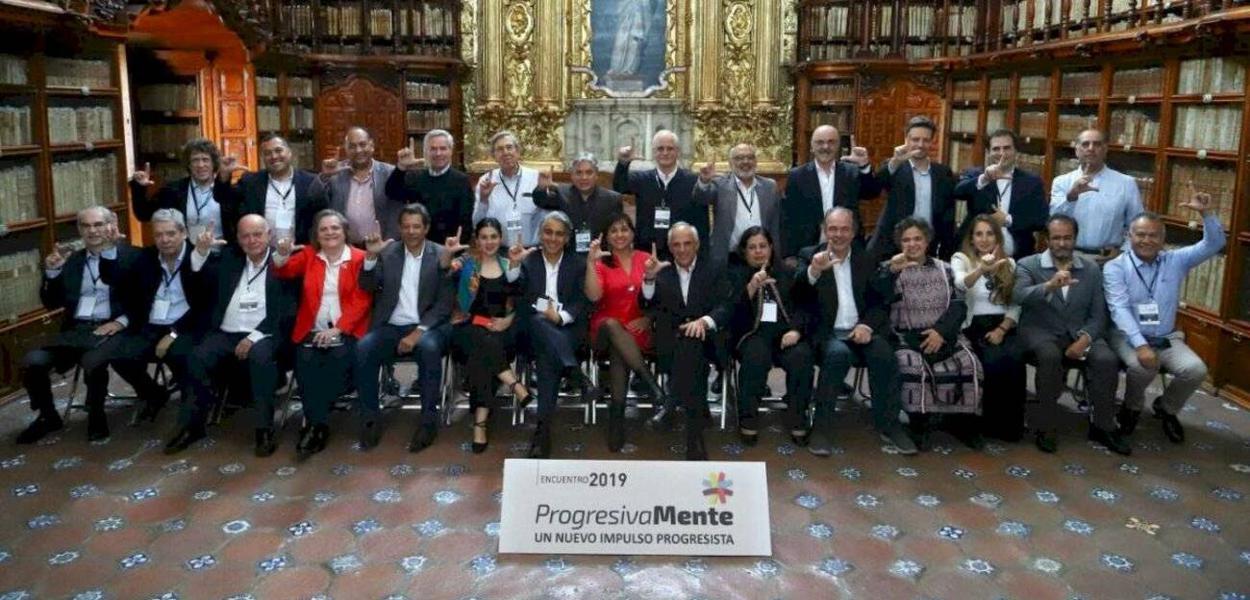 Membros do Grupo del Pueblo