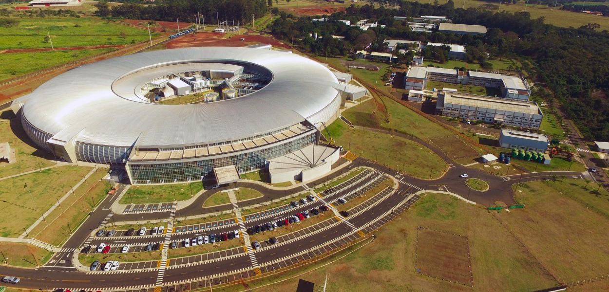 Sirius: maior estrutura científica do país, instalada em Campinas (SP)