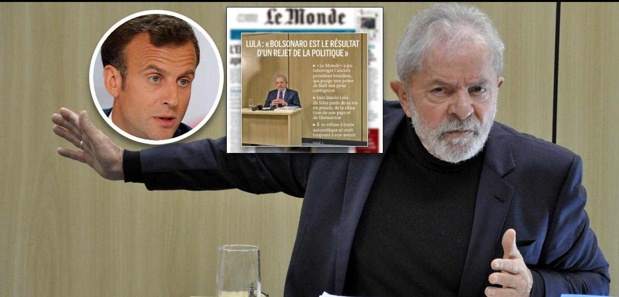 Macron também está feliz com Lula Livre - Brasil 247