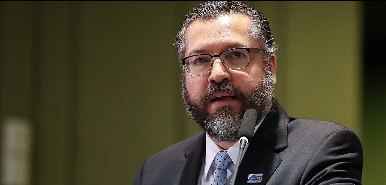 (Brasília - DF, 03/05/2019) Palavras do Ministro das Relações Exteriores, Embaixador Ernesto Araújo.