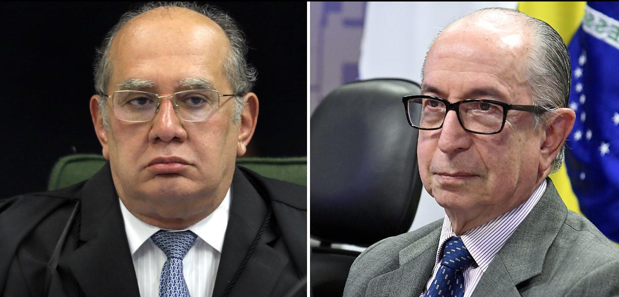 Gilmar Mendes e Marcos Cintra