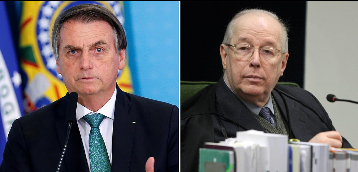 Jair Bolsonaro and Celso de Mello