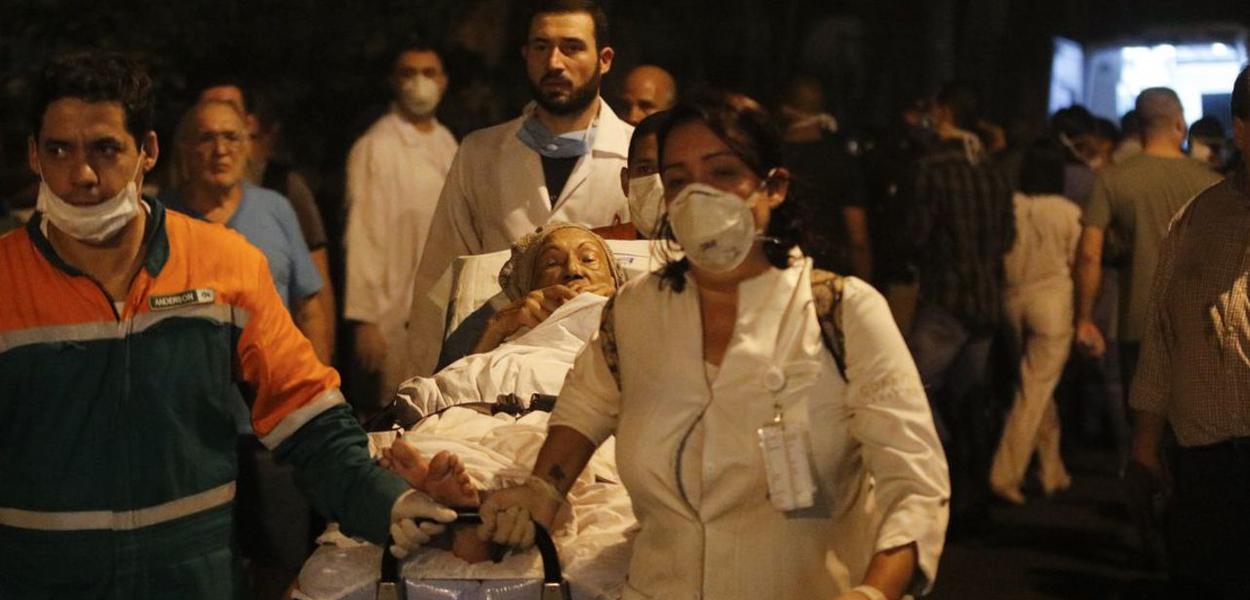 Incêndio em Hospital da Zona Norte/RJ