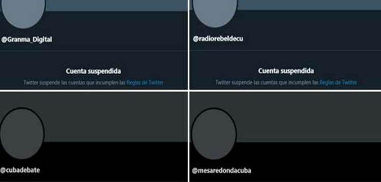 Twitter censura Cuba