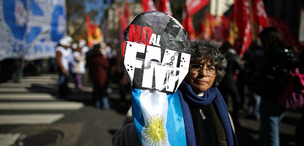 Argentina, protesto
