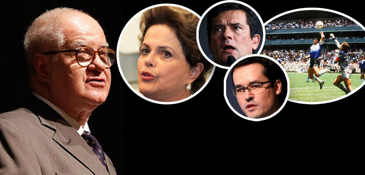 Gaspari agora diz que Dilma foi vítima de armação e que Moro fez gol de mão para derrubá-la