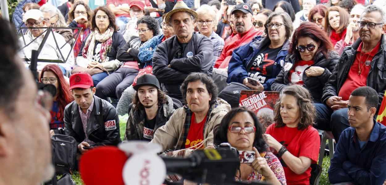 Ato PCO Lula Livre em Curitiba