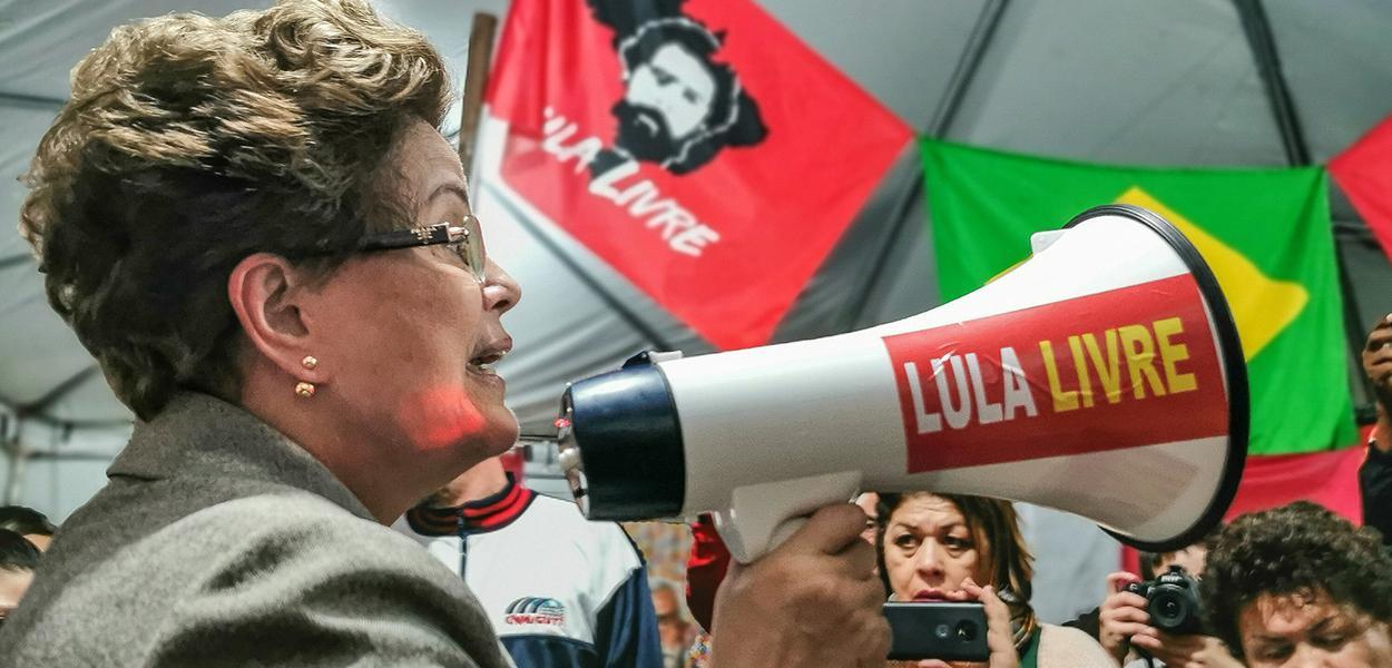 A ex-presidenta da República Dilma Rousseff