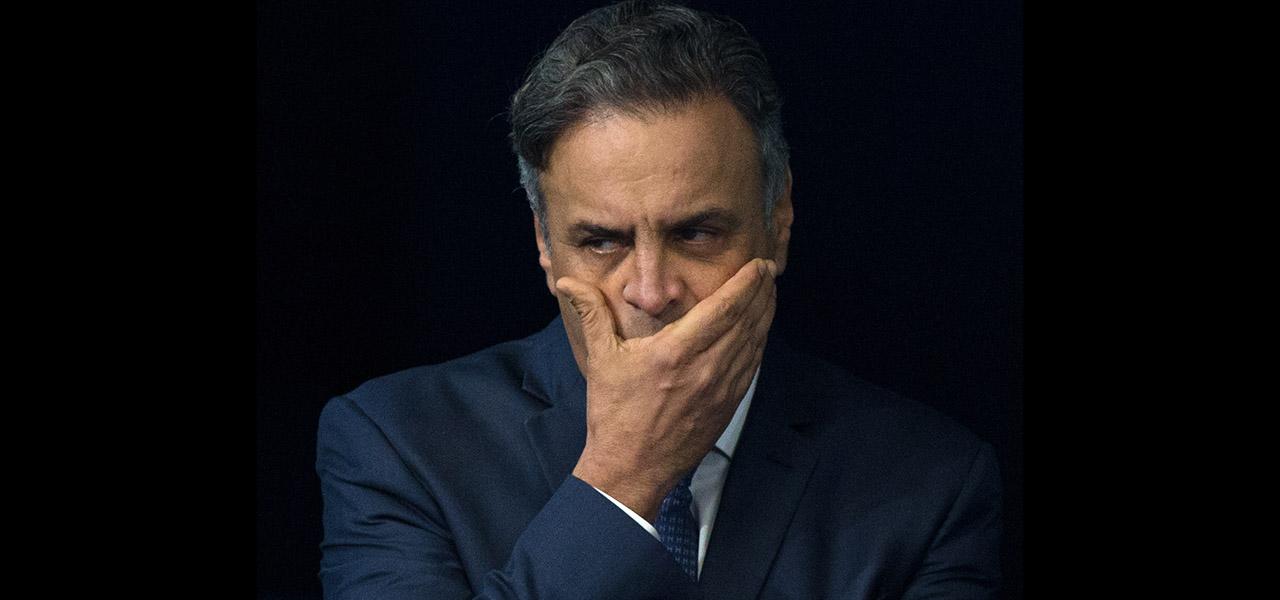 Símbolo da impunidade, Aécio aparece em novo escândalo: o dos ônibus do Rio de Janeiro, com caixa dois de R$ 1,5 milhão