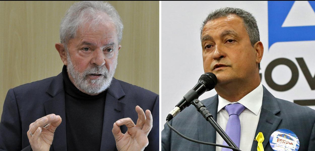 Ex-presidente Lula e Rui Costa