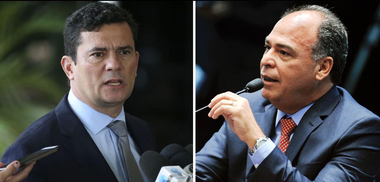Sérgio Moro e Fernando Bezerra