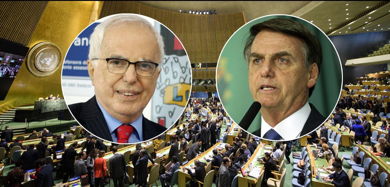 Embaixador Samuel Pinheiro Guimarães, Bolsonaro e sede da ONU