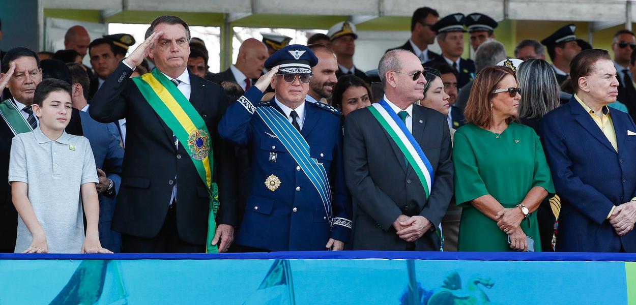 (Brasília - DF, 07/09/2019) Jair Bolsonaro durante  desfile Cívico por ocasião do Dia da Pátria