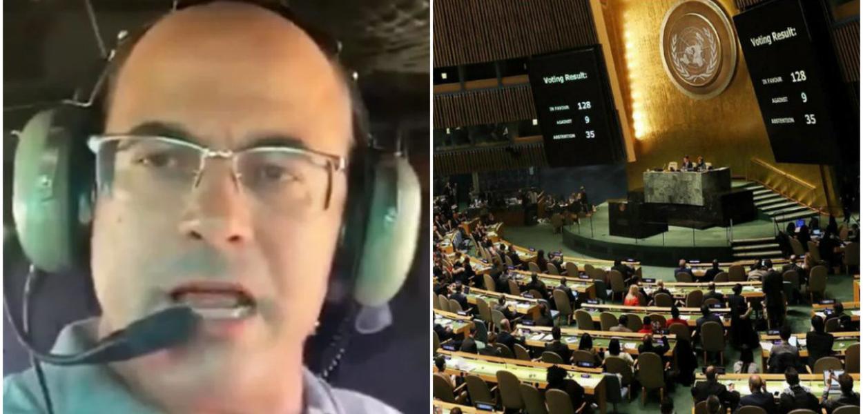 Wilson Witzel denunciado na ONU