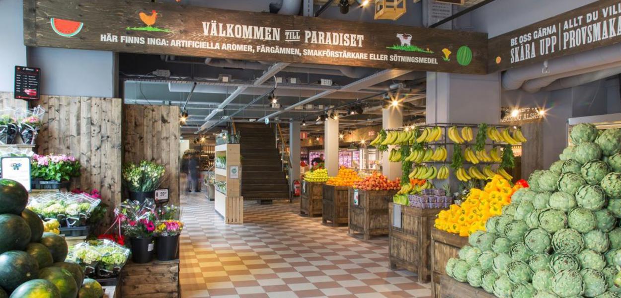 Rede de supermercados Paradiset