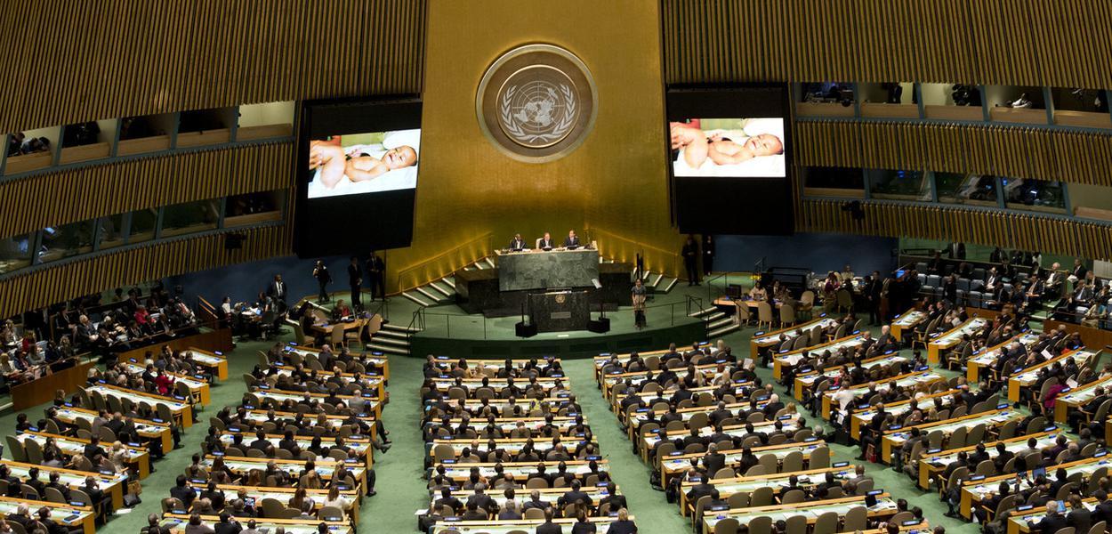 Cúpula do Clima, na ONU, em 2014