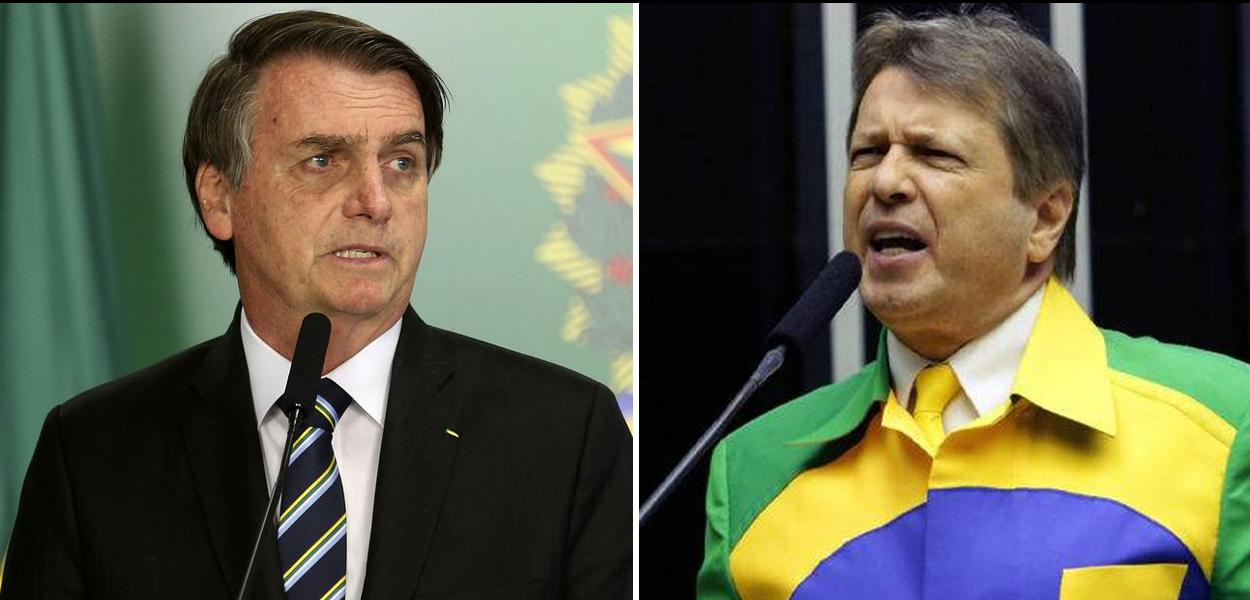 Jair Bolsonaro e deputado federal Bino Nunes