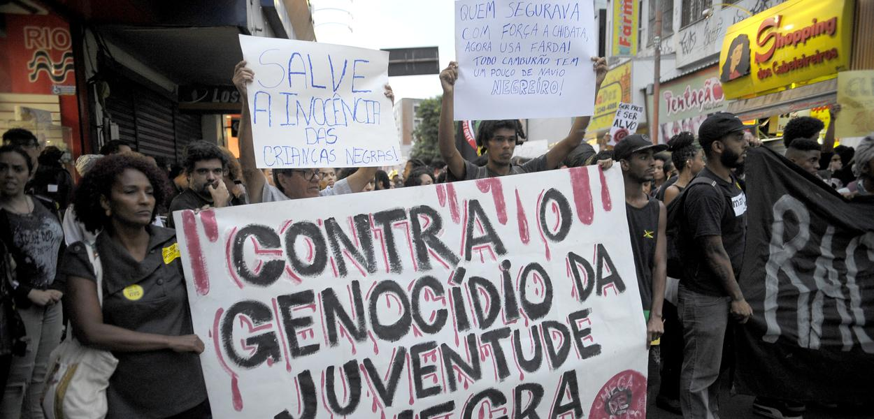 Ato Contra o Genocídio da Juventude Negra