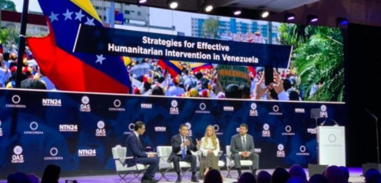 Venezuela, EUA, Oposição