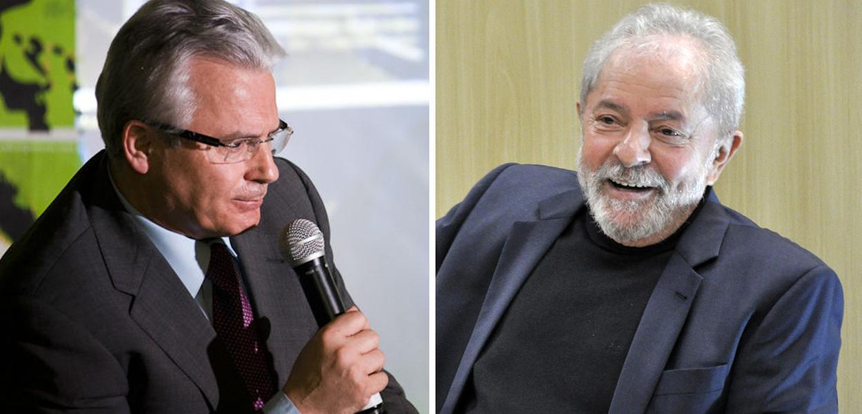 Baltasar Garzón e Lula