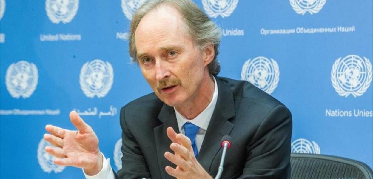 ONU, enviado à Síria