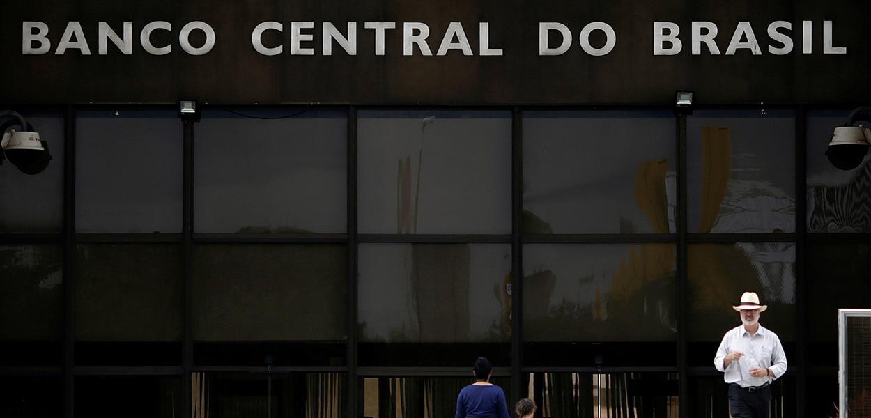 Fachada do Banco Central, em Brasília