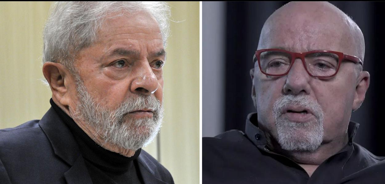 Lula agradece Paulo Coelho