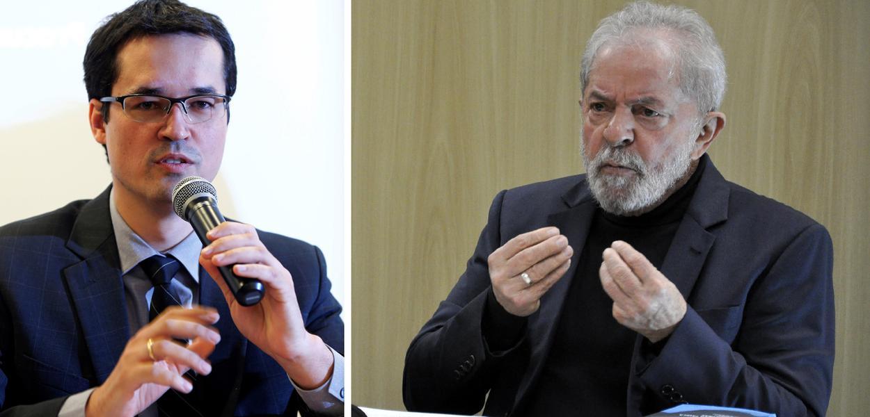 Deltan Dallagnol e Lula
