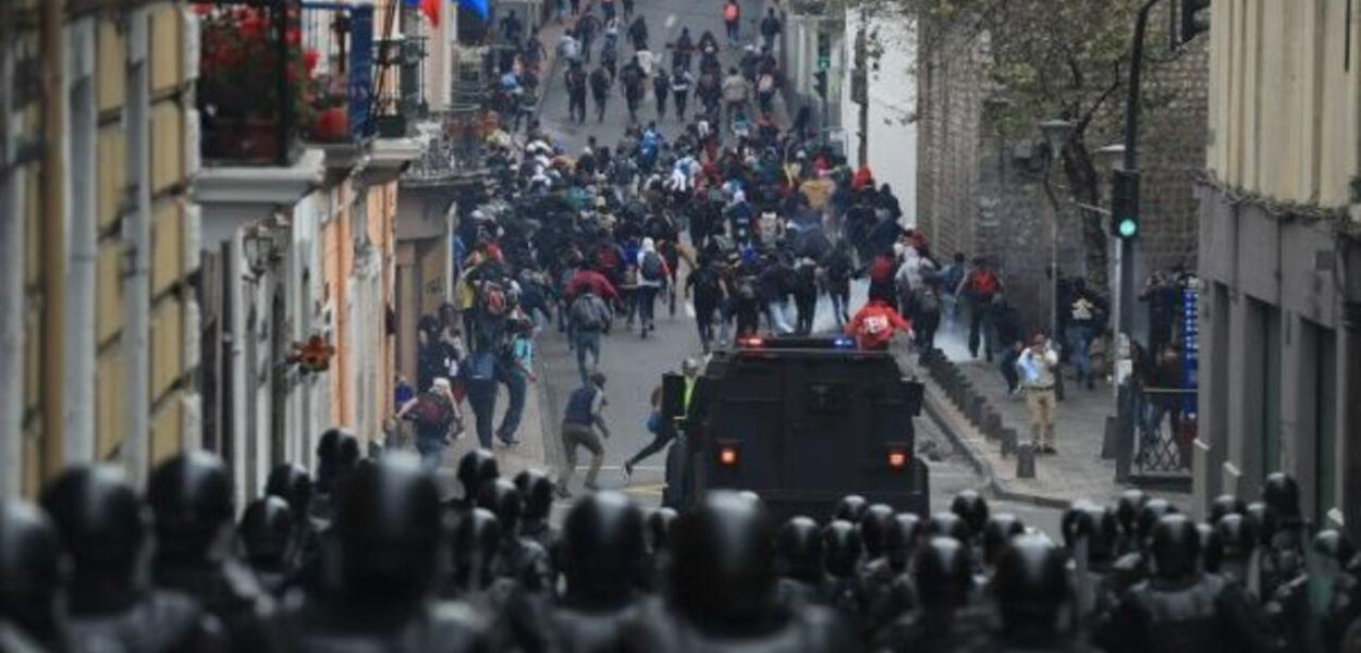 Equador, manifestações