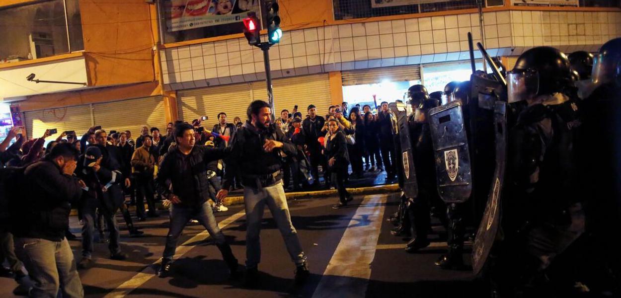 Protestos no Equador