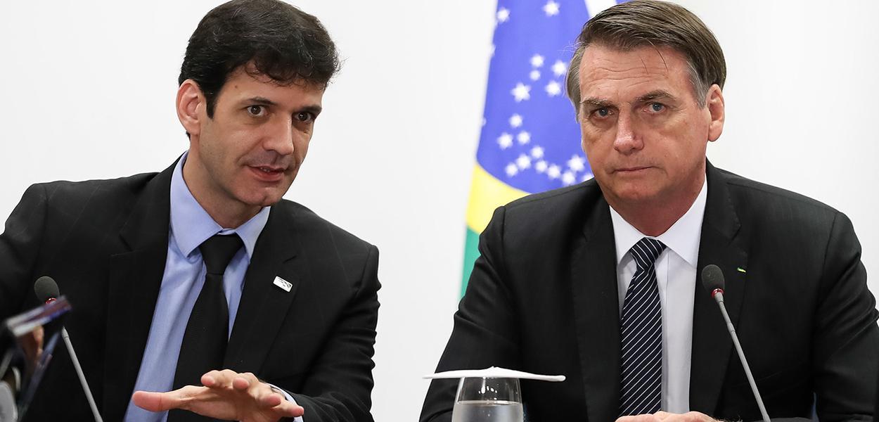 Marcelo Álvaro Antônio e Jair Bolsonaro