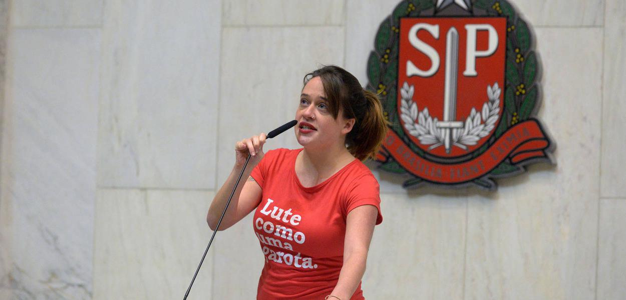 Deputada estadual Isa Penna (PSOL-SP)