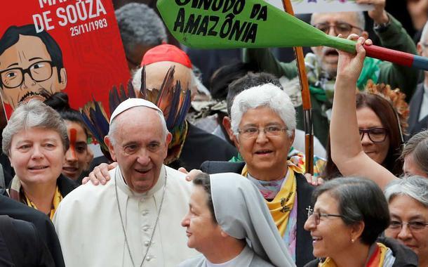 Papa Francisco defende povos indígenas no Sínodo da Amazônia