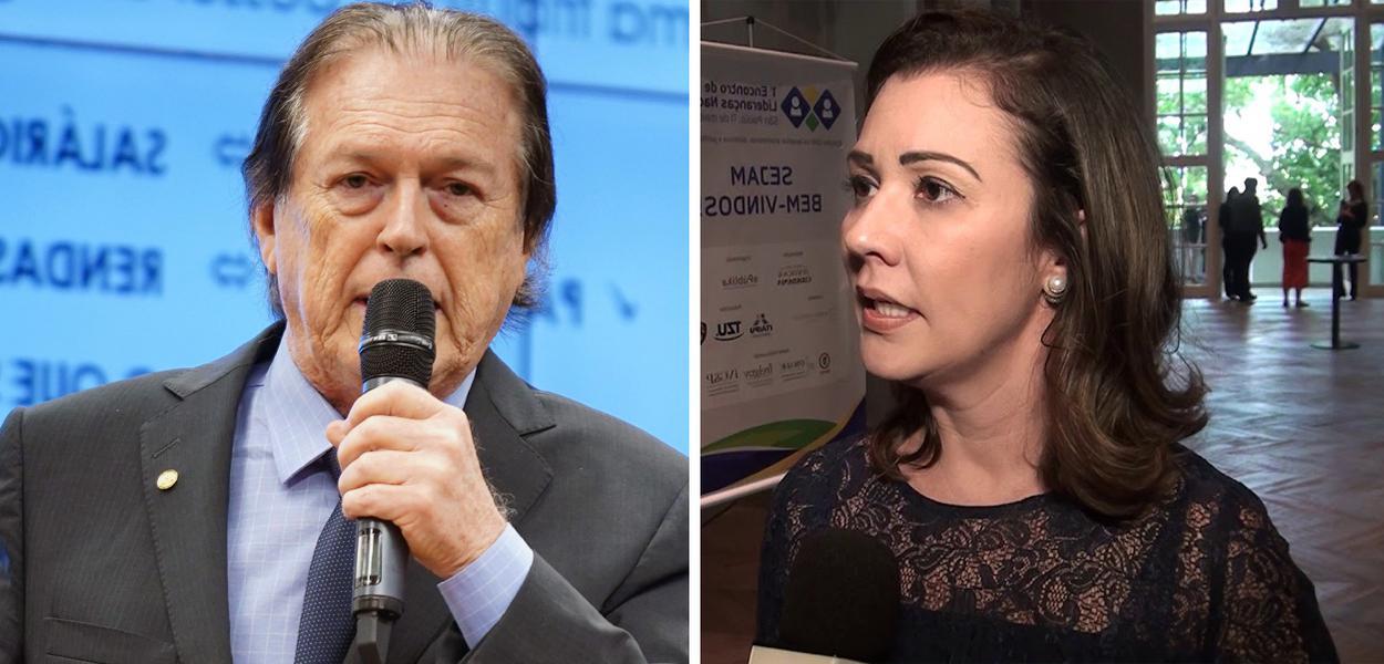 Luciano Bivar e Karina Kufa