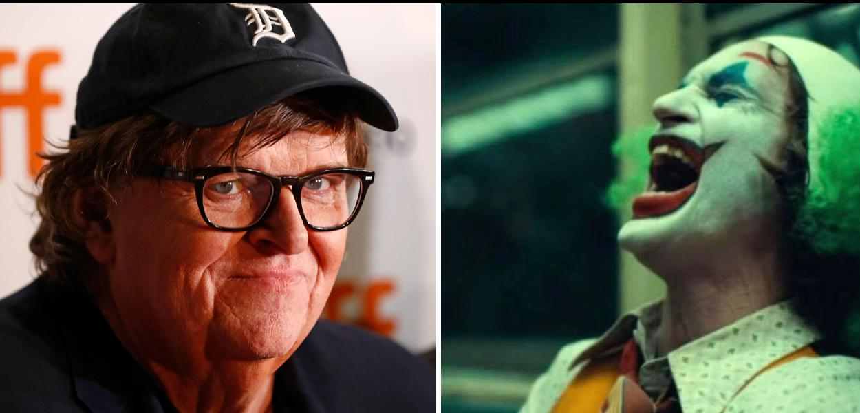 Michael Moore e o Coringa de Joaquin Phoenix