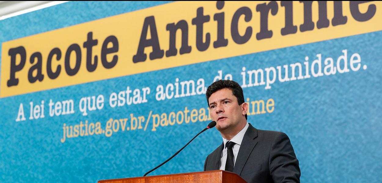 (Brasília - DF, 03/10/2019) Palavras do Ministro de Estado da Segurança Pública, Sérgio Moro.\rFoto: Alan Santos/PR