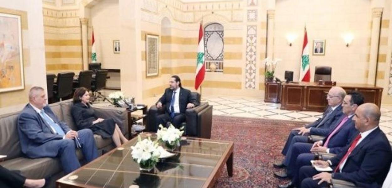 Primeiro-ministro libanês recebe subsecretária-geral da ONU