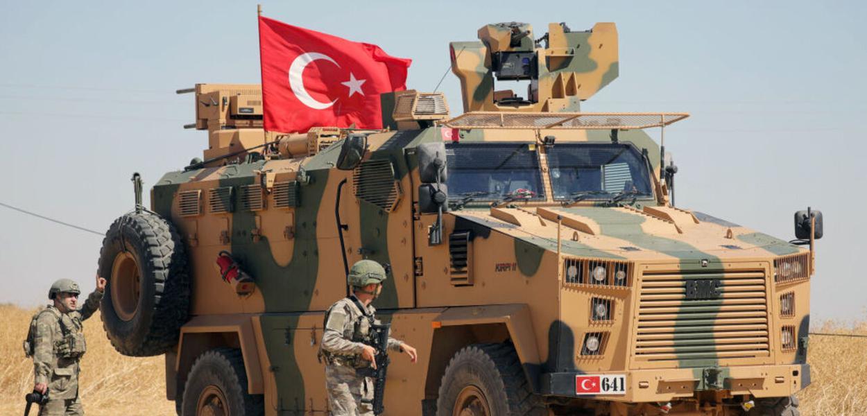 Turquia ataca Nordeste da Síria