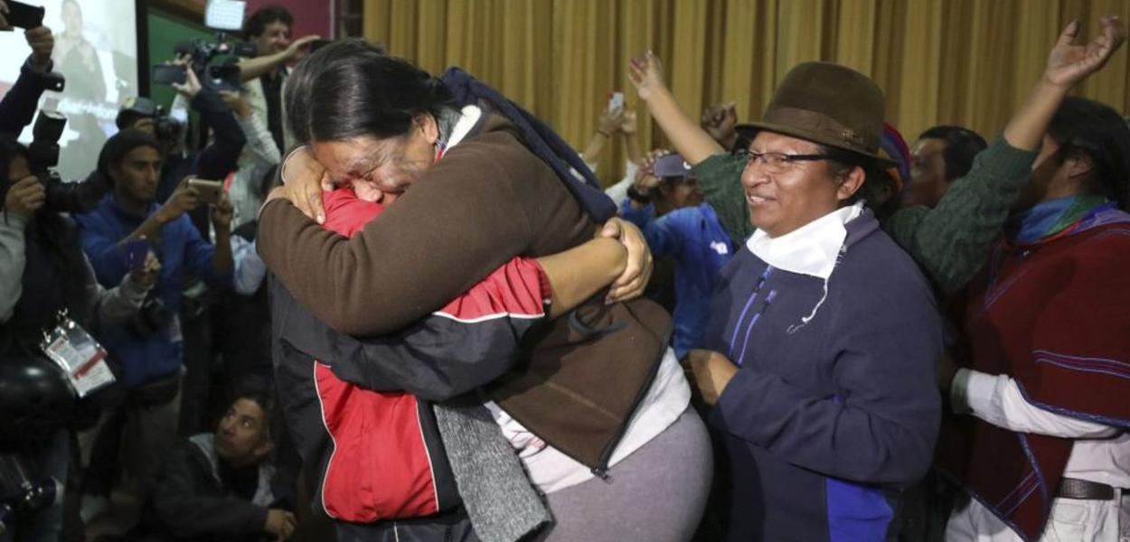 Equador: vitória popular