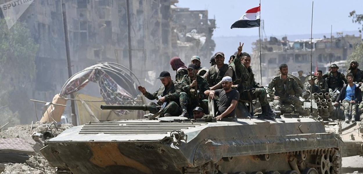 Tropas sírias