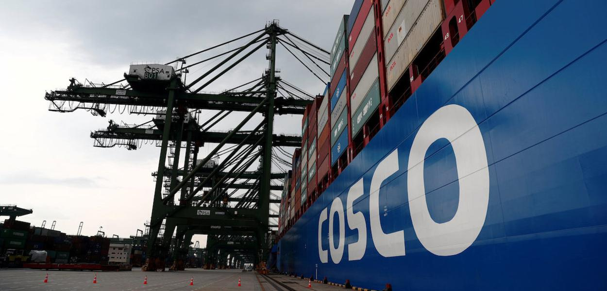 Navio da Cosco