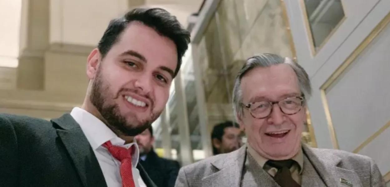 Filipe Martins e Olavo de Carvalho