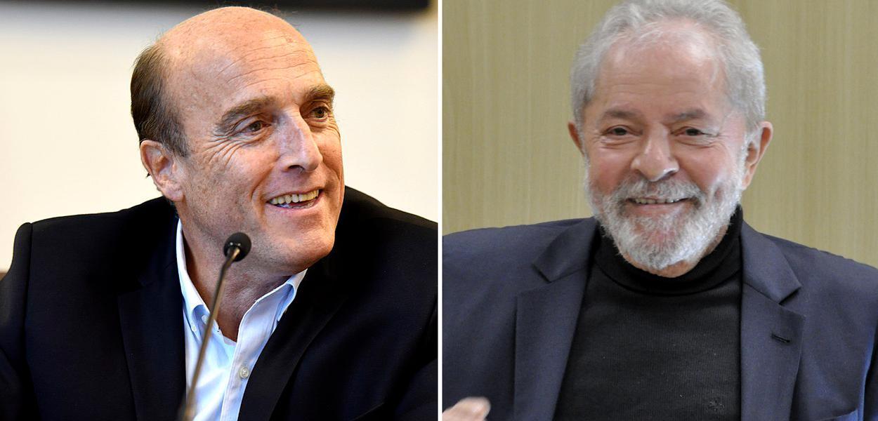 Daniel Martínez e Lula