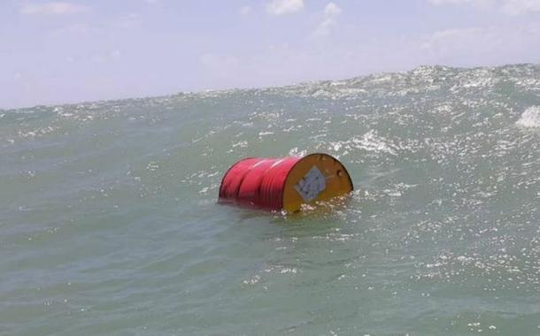 Mais um barril com logo da Shell é encontrado perto de Natal