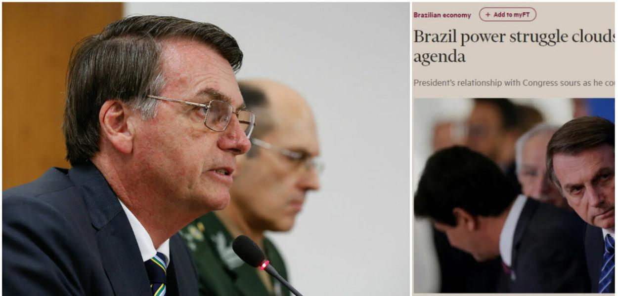 Jair Bolsonaro e matéria do Financial Times