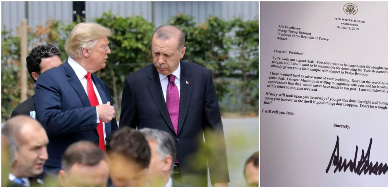 Carta de Trump a Erdogan