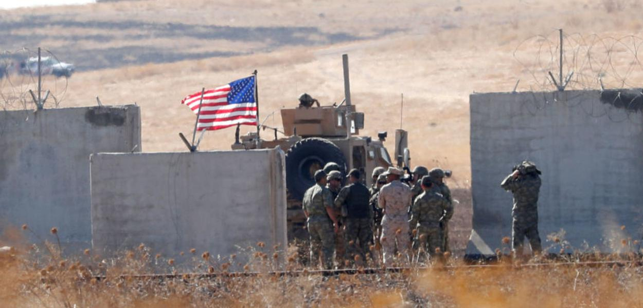 Tropas dos EUA no Oriente Médio
