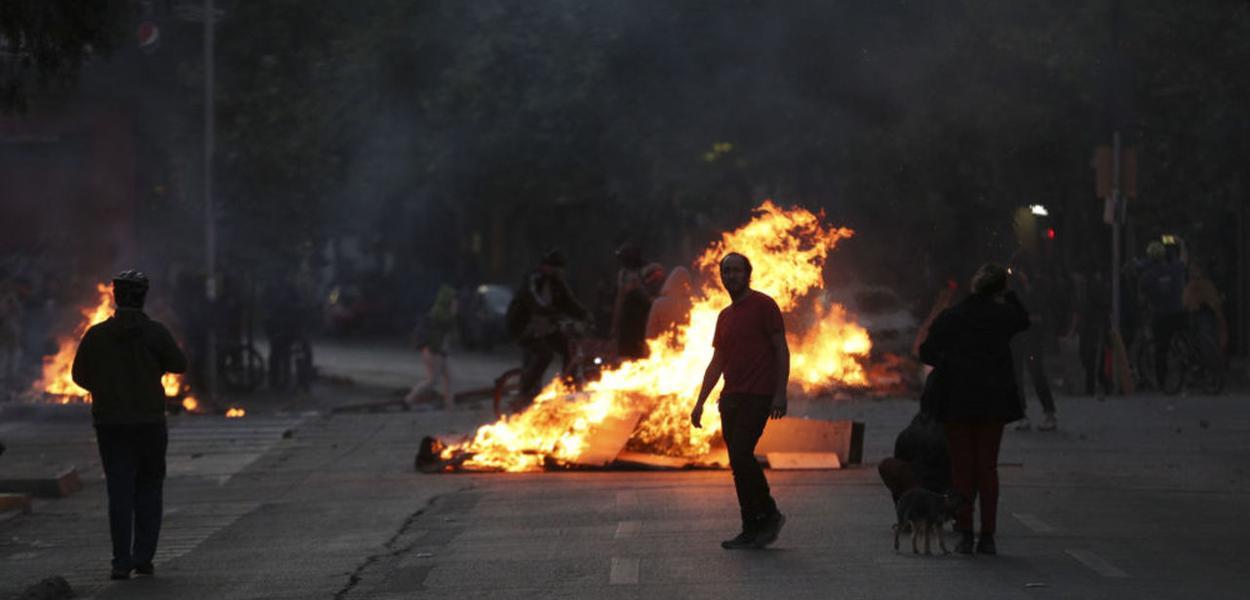 Chile, manifestações